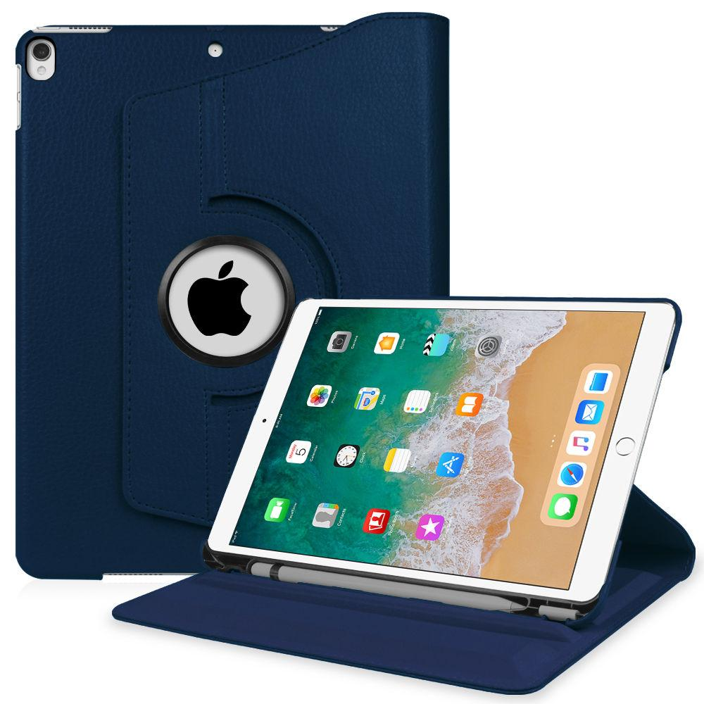 buy popular 36818 cf851 360° Rotating Case Stand Cover w/ Apple Pencil Holder - iPad Pro 10.5