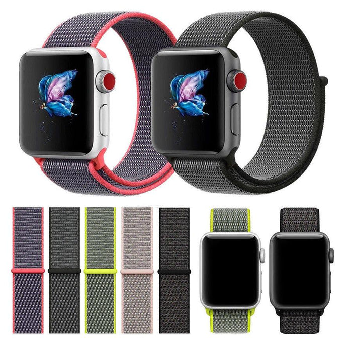 BANJO - Woven Nylon Sport Loop for Apple Watch