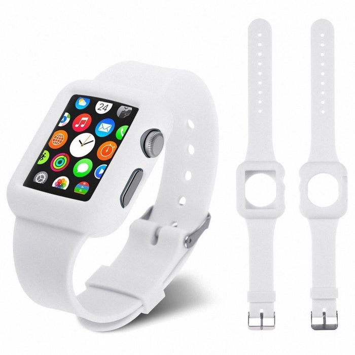 Silicone Strap Bracelet Fitness Band Replacement For Apple Watch iWatch 42, 38mm