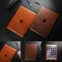 Luxury Slim Leather Folio Case