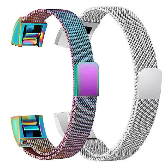 Milanese Magnetic Loop Stainless Steel Band for Fitbit Alta HR /Alta