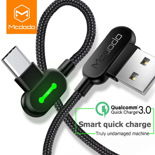 The 90 - 90 Degree USB Type-C/PD Rapid Charge Cable