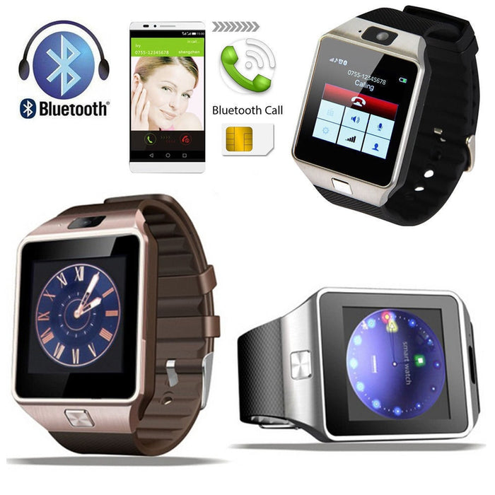 DZ09 Bluetooth Smart Watch Phone - Android & iPhones