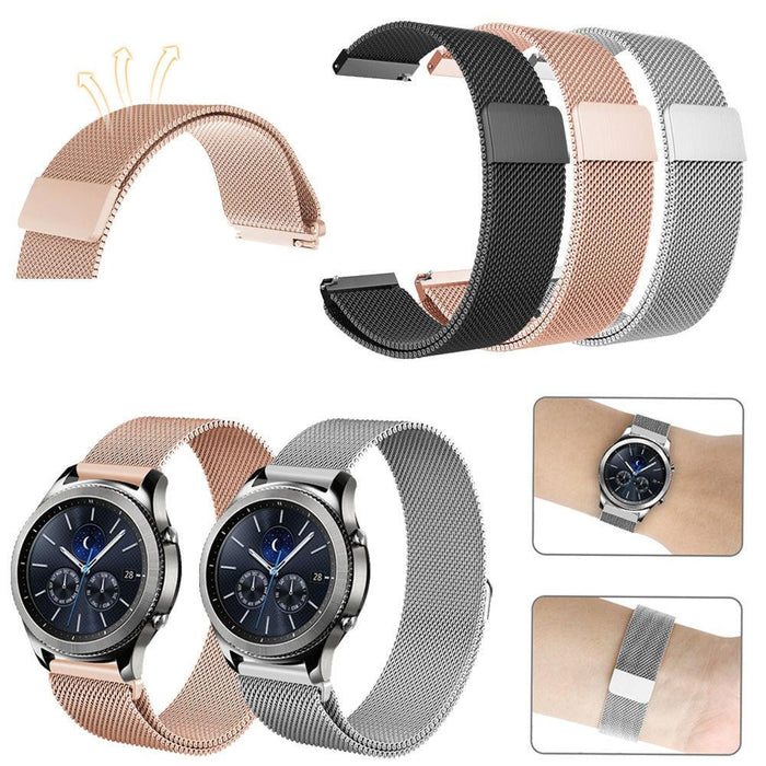 MAGLOCK MILANESE WATCH BAND -GEAR S3/FRONTIER