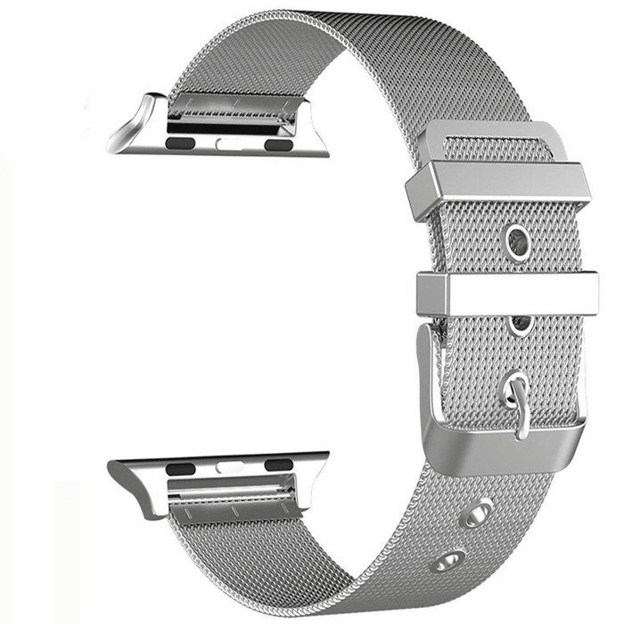 Royal Woven Stainless Steel Apple Watch Band