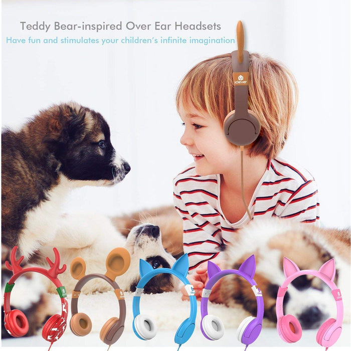 iClever BoostCare Wired Headphones-The Safest Headphones For The Little Ones