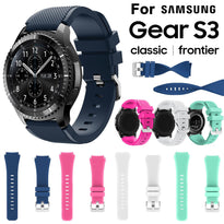 SILICONE WRIST STRAP WATCH BAND -GEAR S3/FRONTIER