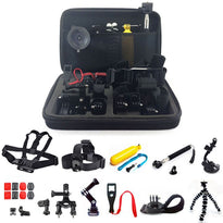 26 in1 Head Chest Mount Floating Monopod Accessories Kit For GoPro 2 3 4 Camera