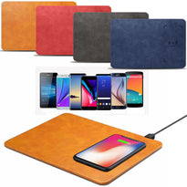 Qi Wireless Charging Mouse Pad Desktop Charger