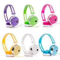 LoveHeart Kids DJ Headphones for Cell Phones Tablets DVD iPod