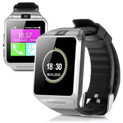 New GV08 Bluetooth Smart Watch Mobile Phone Camera Touch Screen For Android