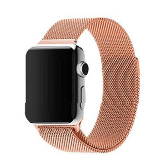 Apple Watch Band, Milanese Magnetic Loop Stainless Steel - Rose Gold