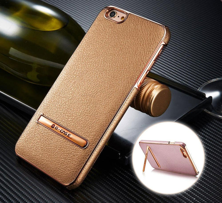 G-Case Genuine Leather with Kickstand iPhone S6 PLUS