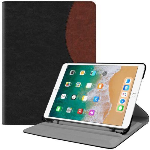 "360° Rotating Case Stand Cover w/ Apple Pencil Holder - iPad Pro 10.5"" 2017"