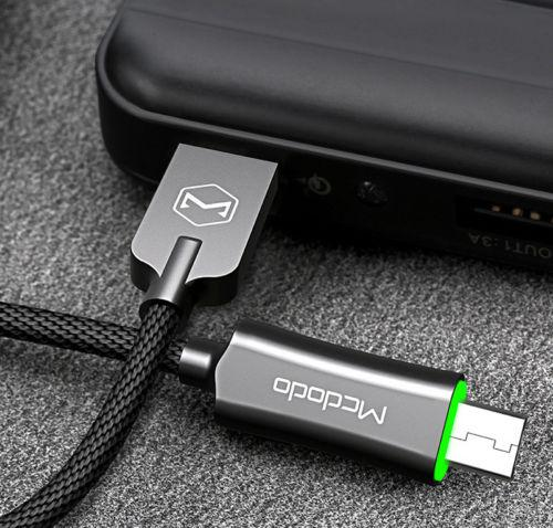 Mcdodo Android Smart Rapid Charging Braided Cable Micro