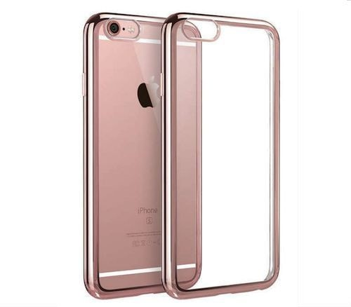 Stylix Crystal Clear TPU Soft Back Bumper Case iPhone 6/6 Plus