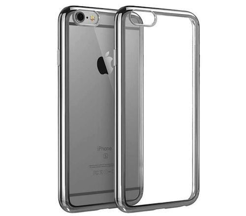 Stylix Crystal Clear TPU Soft Back Bumper Case iPhone 6/6 Plus - FREE SCREEN PROTECTOR