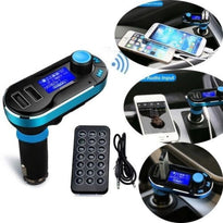 Bluetooth LCD AM/FM Transmitter Car Kit