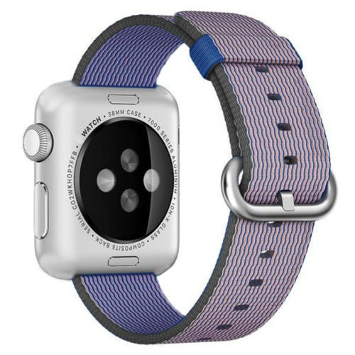 Royal Woven Nylon Wrist Watch Band - Apple Watch