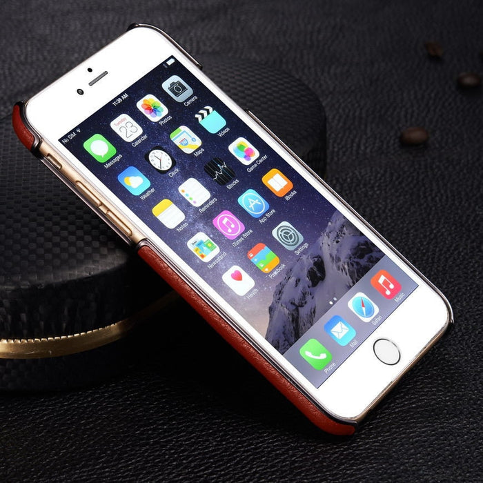 G-Case Genuine Leather with Kickstand iPhone S6