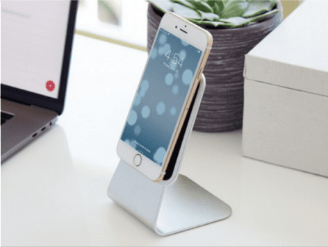 Slope Microsuction Mobile Device Stand