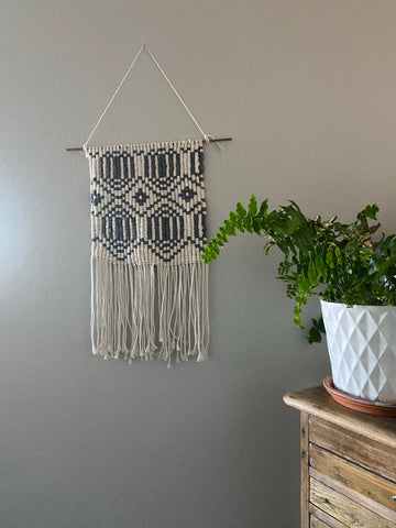 Gray Woven Wall Decor