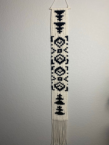 Vertical Macrame Wall Hanging