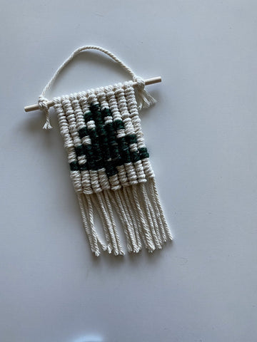 Woven Tree Ornament