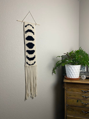 Moon Cycle Wall Hanging