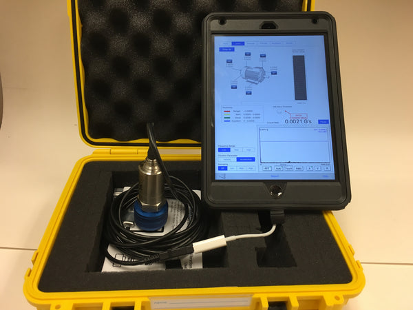 Single-Channel Vibration RMS Tester