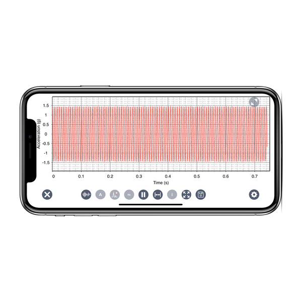 VibeSense Wireless Vibration Analyzer
