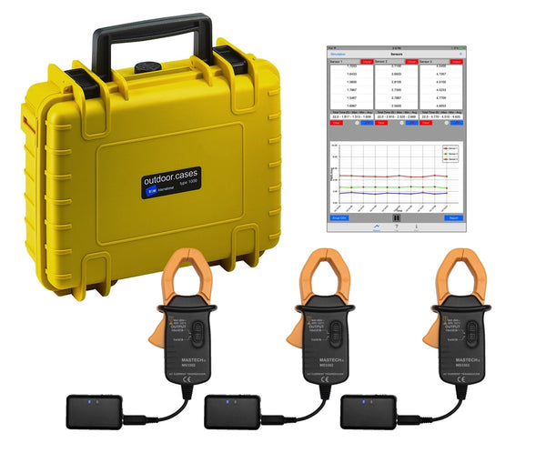 Wireless Multi-line Current Measurement Kit - Motionics