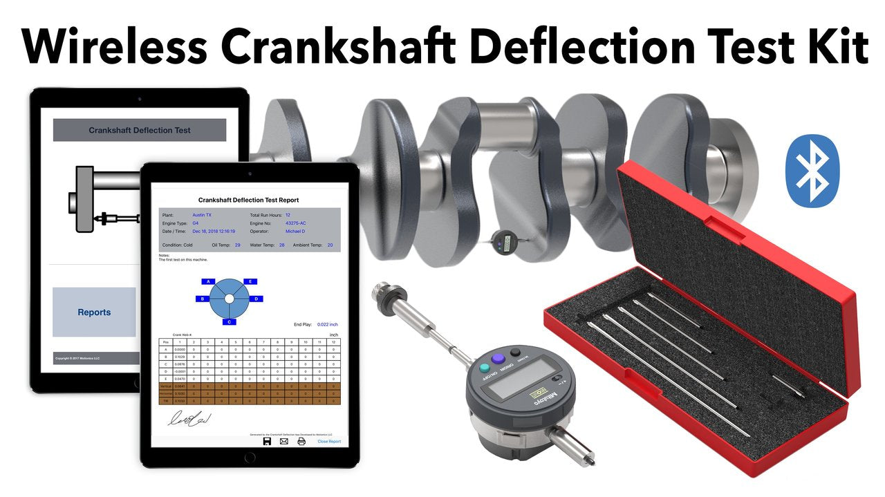 Motionics Wireless Crankshaft Deflection Test Kit