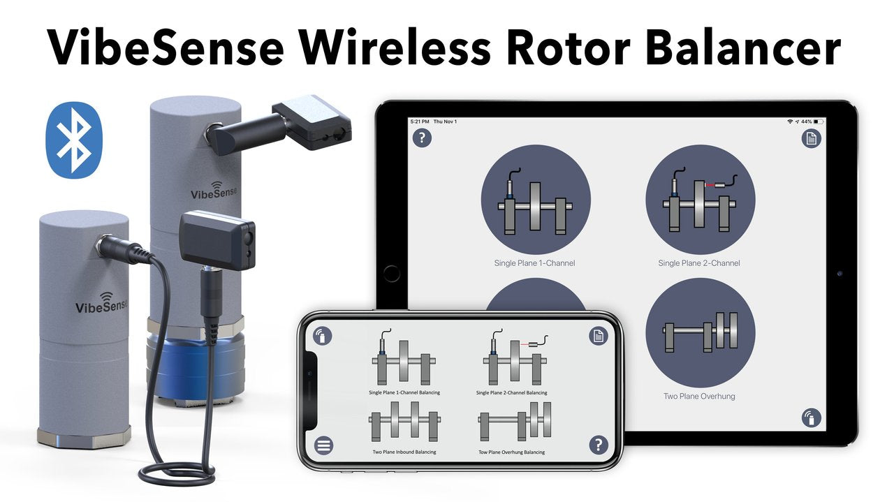 Motionics VibeSense Wireless Rotor Balancer