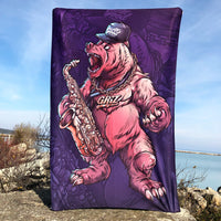 Grizzly Griz Tapestry
