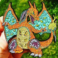 Monster Charizard Pin