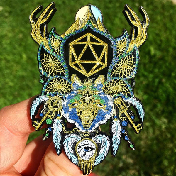 Odesza Dream Catcher Pin