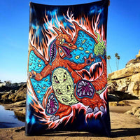 Monster Charizard Tapestry
