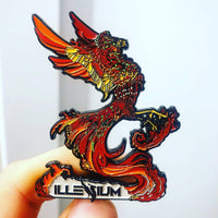 "Illenium ""Rise from the ashes"" Pin"