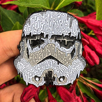 Melty Storm Trooper Pin
