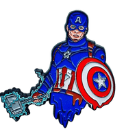 Melty Captain America Pin