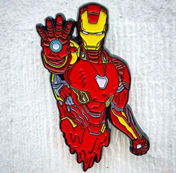 Melty Iron Man Pin