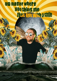 Mac Miller Smile Tapestry