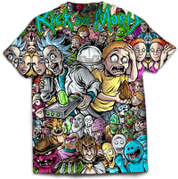 Rick and Morty Shirt NEW RELEASE!