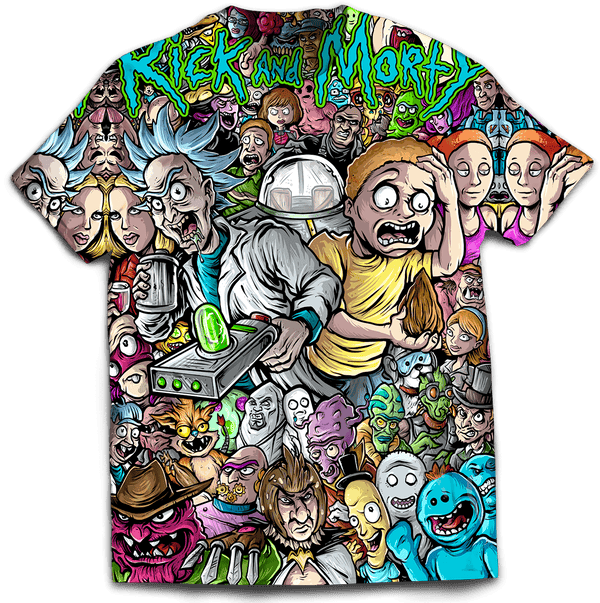 Rick and Morty Shirt