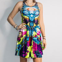 Aztec Alien Dress