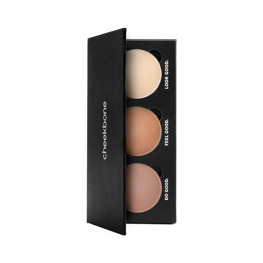 Face Palette Face Cheekbone Beauty Earth Matte