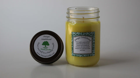 12 oz Antique Sandalwood soy wax candle