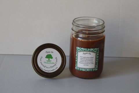 12 oz Apple Pie soy wax candle