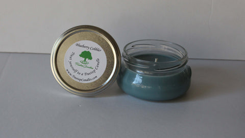 6 oz Blueberry Cobbler soy wax candle